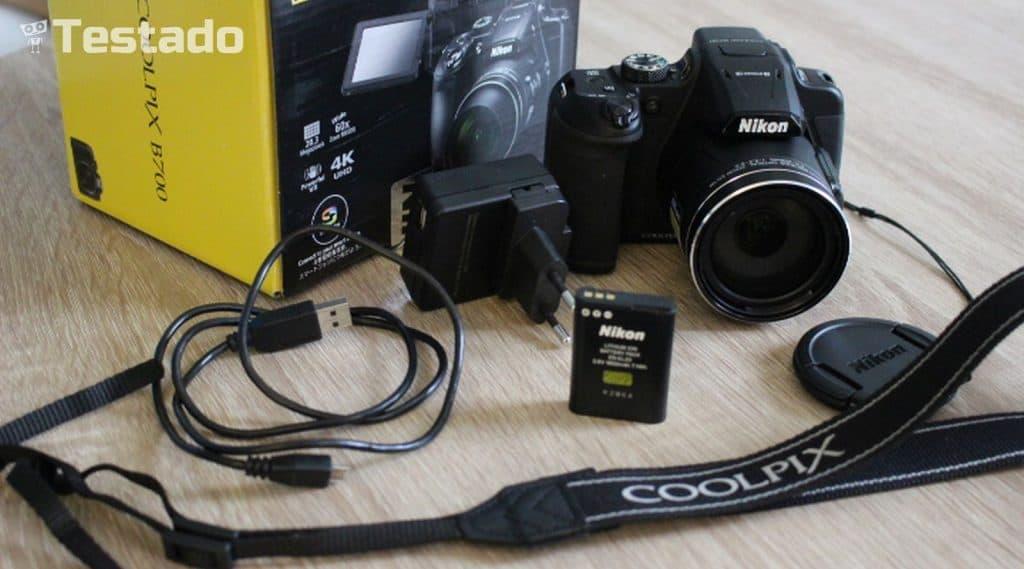 Nikon Coolpix B700 - obsah balení