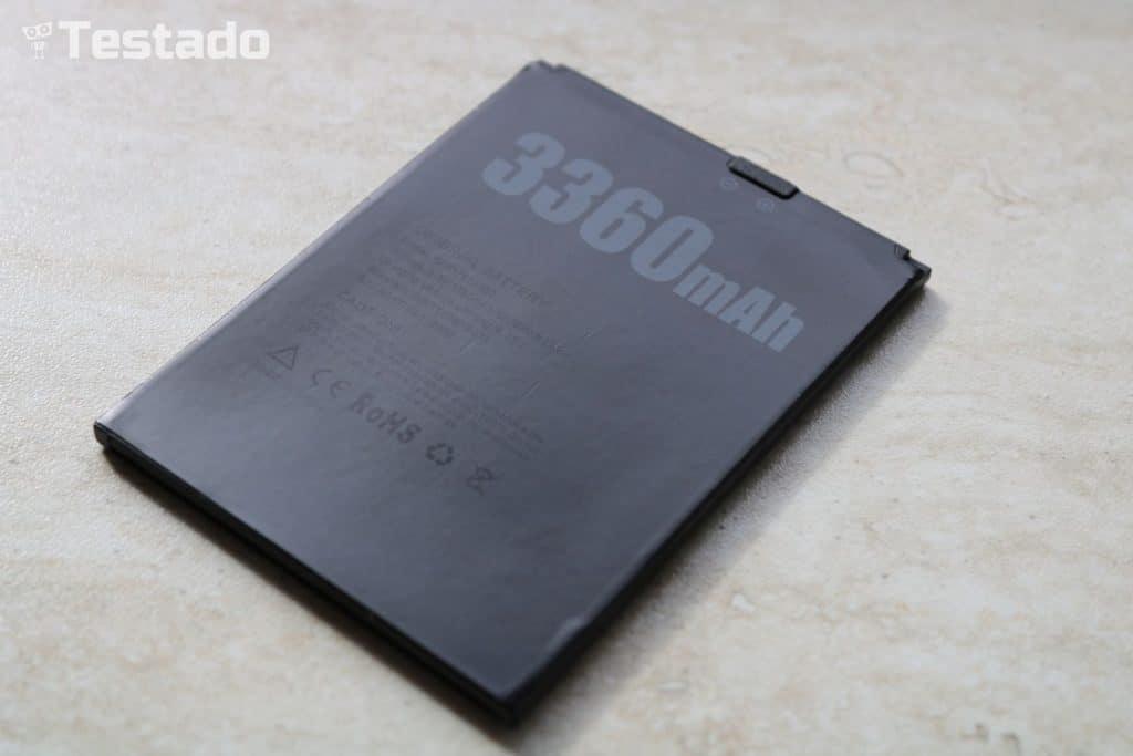 Doogee X30 - baterie