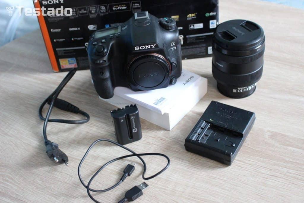 Sony Alpha A77 II - obsah balení