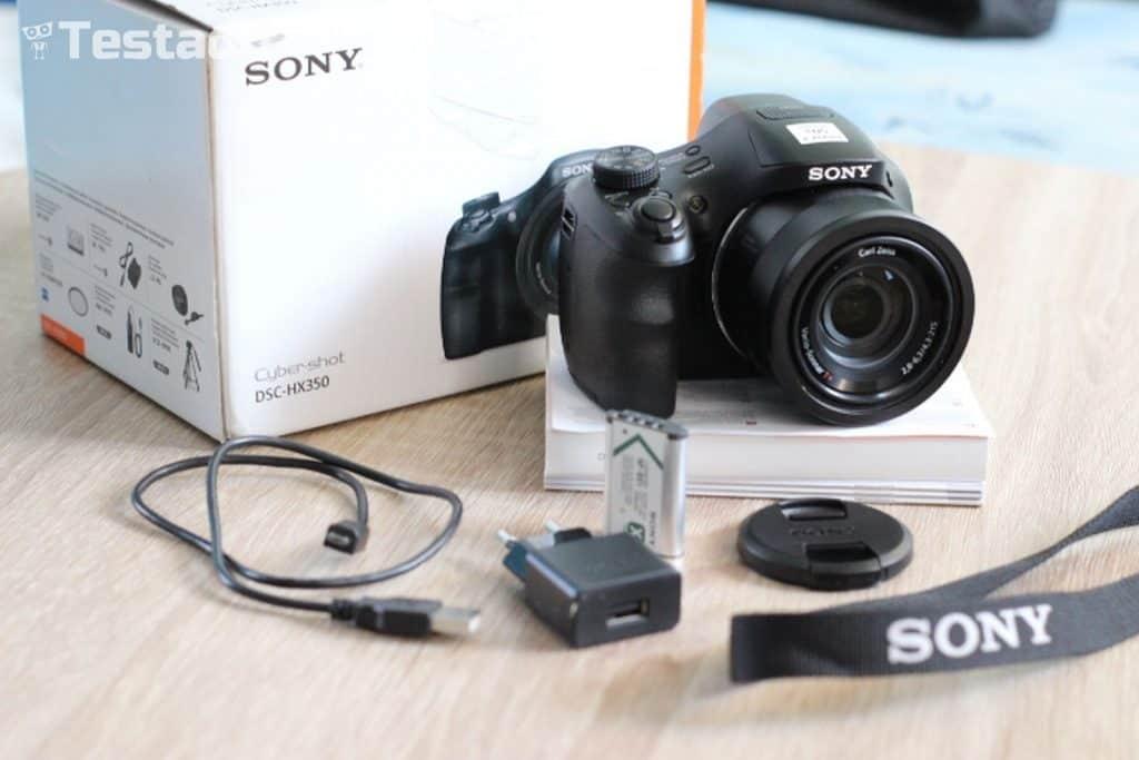 Sony Cyber-shot DSC-HX350 - Obsah balení