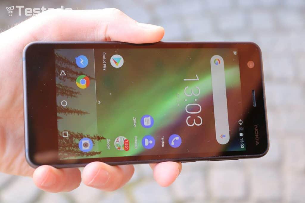 Nokia 2 Dual SIM - displej