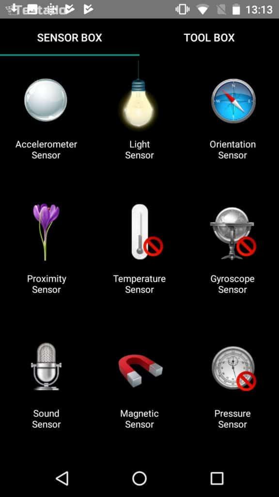 Nokia 2 Dual SIM - senzory