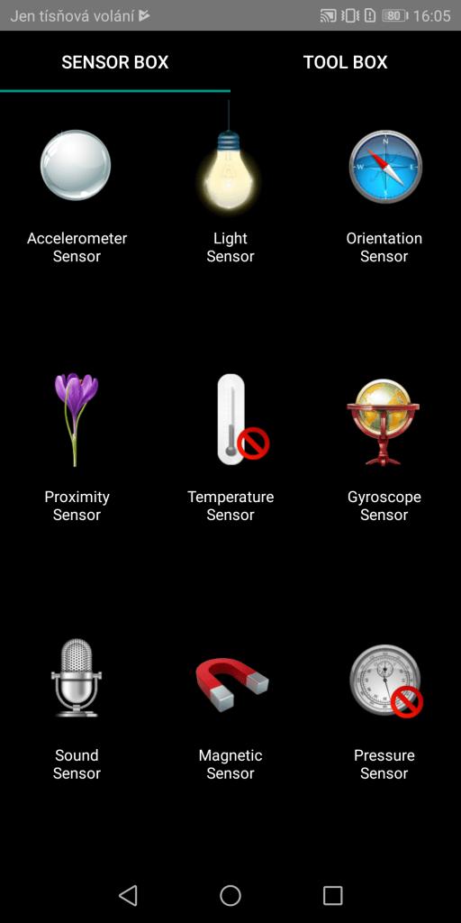 Honor 9 Lite Dual SIM - senzory