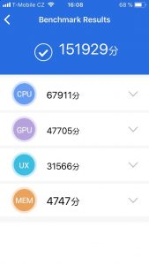 Apple iPhone SE 32 GB - AnTuTu Benchmark