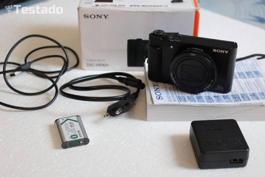Sony Cyber-shot DSC-HX90V - obsah balení