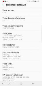 Samsung Galaxy S9+ (G965F/DS) - systém