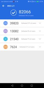 Honor 7X 4GB/64GB Dual SIM - AnTuTu hardware