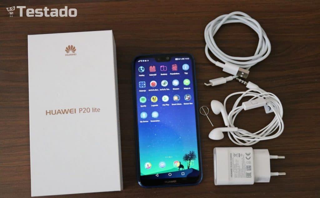 Huawei P 20 Lite 4GB 64GB Dual SIM - obsah balení