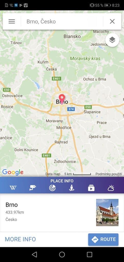 navigace GPS Navigation