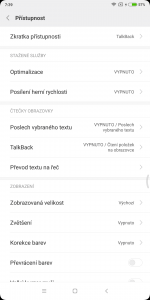 Xiaomi Redmi Note 5 3GB/32GB Global - systém
