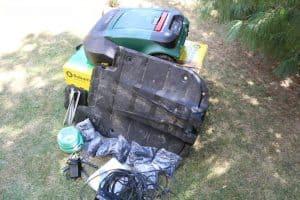 Robomow RS 615 U - obsah balení