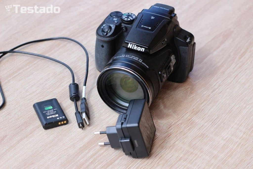 Nikon Coolpix P900 - obsah balení