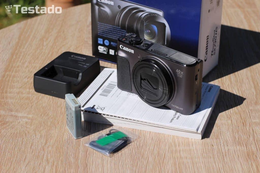 Canon PowerShot SX730 HS - obsah balení