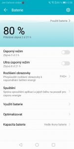 Honor View 10 6GB/128GB Dual SIM - systém