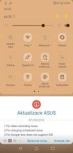 Asus ZenFone 5 Dual SIM - systém