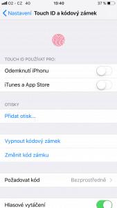 Apple iPhone 7 128GB - systém