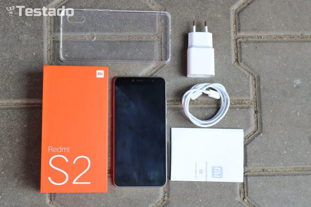 Xiaomi Redmi S2 3GB/32GB Global - obsah balení