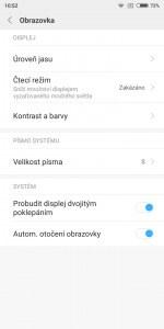 Xiaomi Redmi S2 3GB/32GB Global - systém