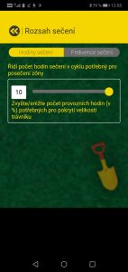 Robomow RS 615 U - aplikace