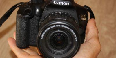 Recenze Canon EOS 1300D