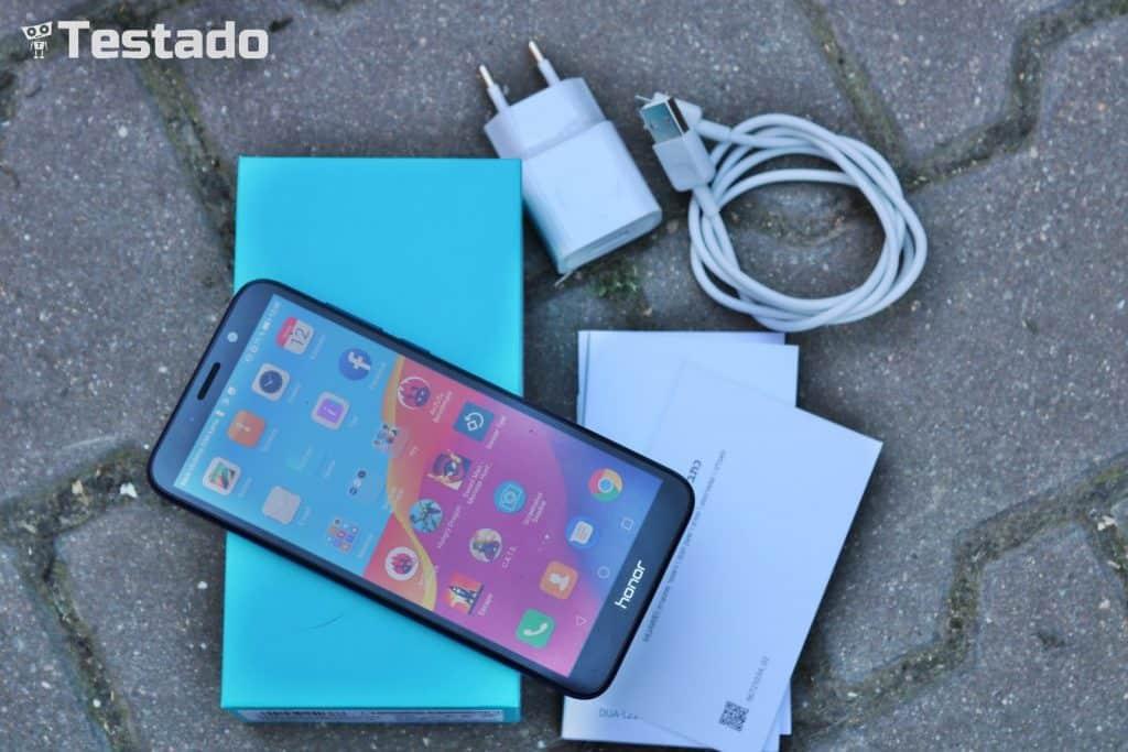 Honor 7S 2GB/16GB Dual SIM - obsah balení