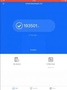 Apple iPad 9.7 2018 - AnTuTu hardware