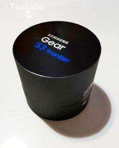 Samsung Gear S3 Frontier - obsah balení
