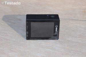 akční kamery - displej
