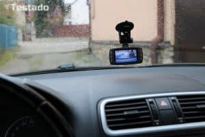 kamera do auta - umístění