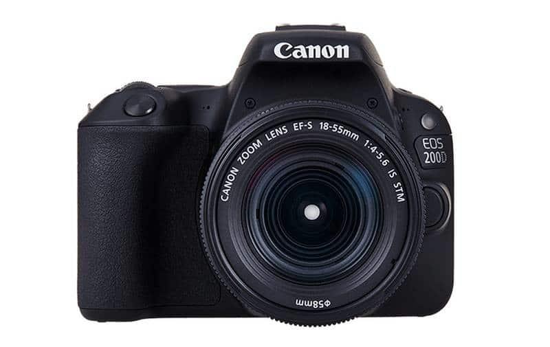 Recenze a test Canon EOS 200D