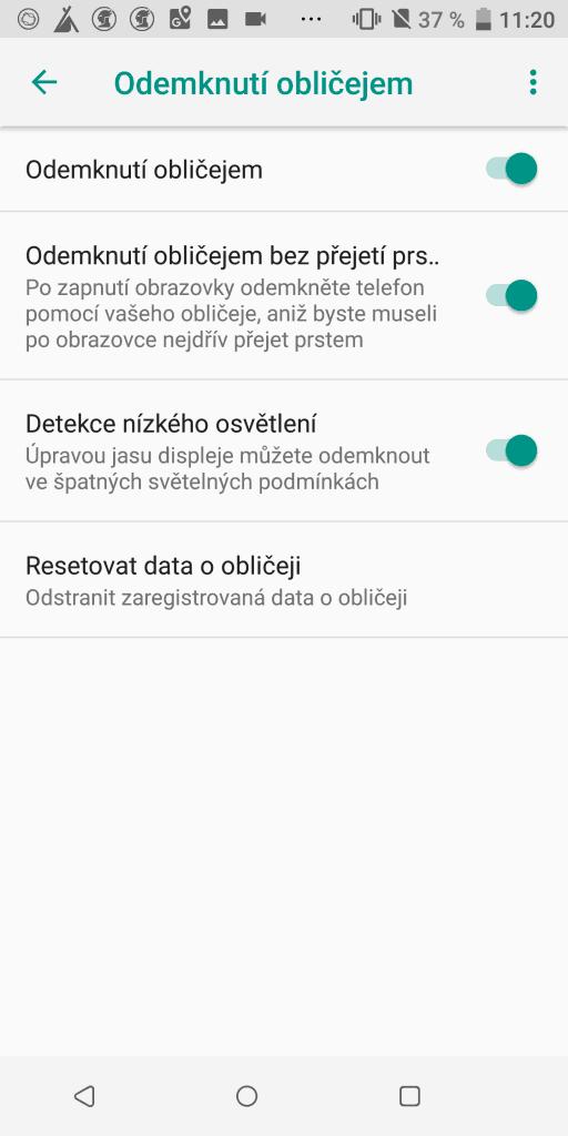 HTC U12+ 64GB Dual SIM - systém