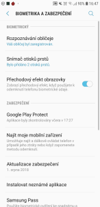 Samsung Galaxy J6 Dual SIM - systém