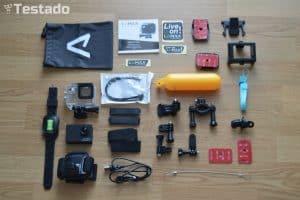akční kamery - příslušenství