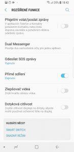 Samsung Galaxy S9 64 GB Dual SIM - systém