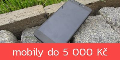 Nejlepší mobilní telefony do 5 000 Kč – podzim 2020