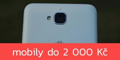 Nejlepší levné mobilní telefony do 2 000 Kč – podzim 2019