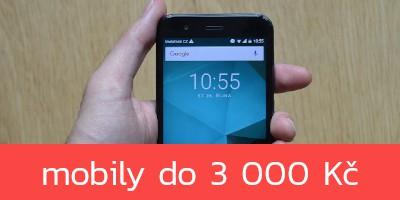 Nejlepší mobilní telefony do 3 000 Kč – jaro 2020