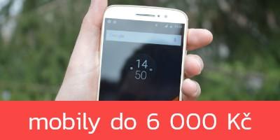 Nejlepší mobilní telefony do 6 000 Kč – zima 2021
