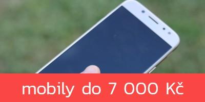 Nejlepší mobilní telefony do 7 000 Kč – jaro 2019