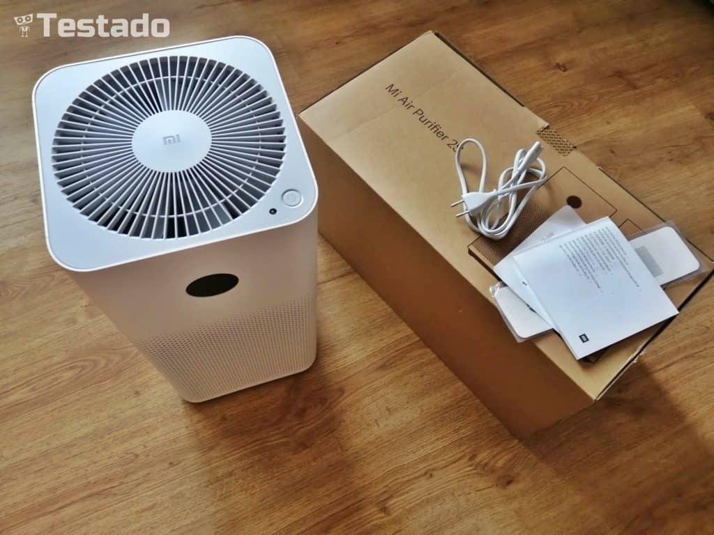 Xiaomi Mi Air Purifier 2S - čistička vzduchu - obsah balení