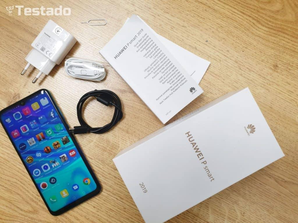 Huawei P smart 2019 - obsah balení
