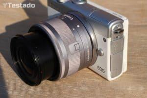 Recenze Canon EOS M100