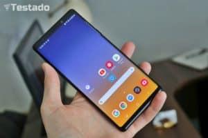 Test a recenze Samsung Galaxy Note9