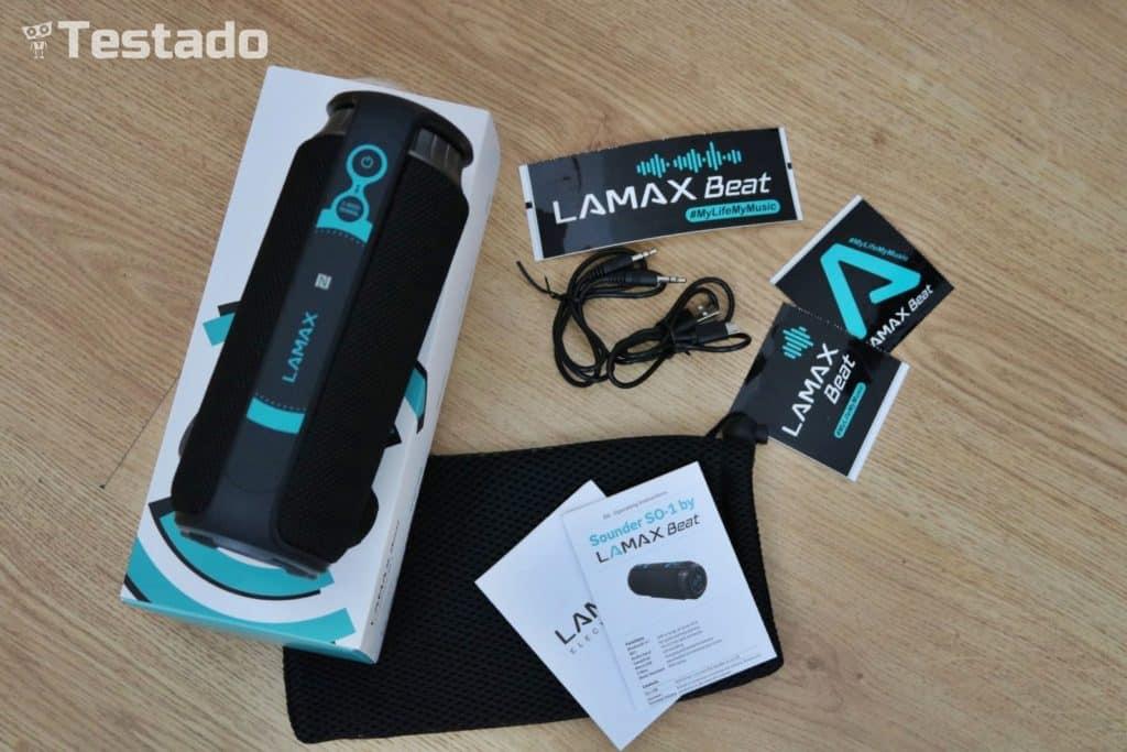 Test LAMAX Sounder SO-1 - obsah balení