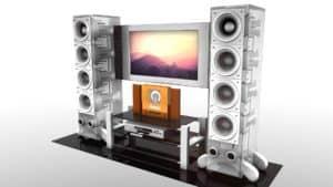 Bezdrátové domácí kino nebo soundbar