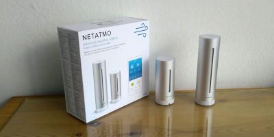 Recenze chytré meteostanice Netatmo Urban Weather Station