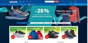 Sportisimo - Homepage