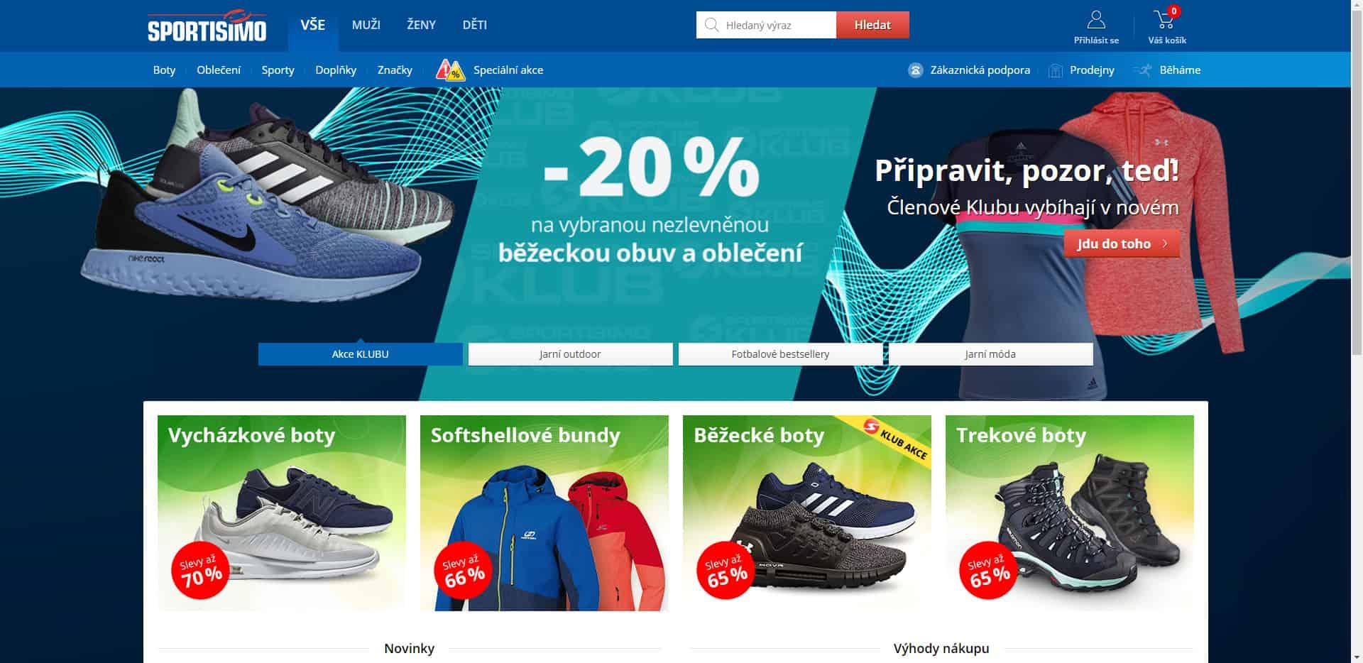 d23ebdefd Sportisimo.cz – recenze e-shopu, vrácení zboží, letáky, slevy ...