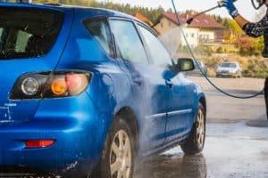 mytí auta wapkou