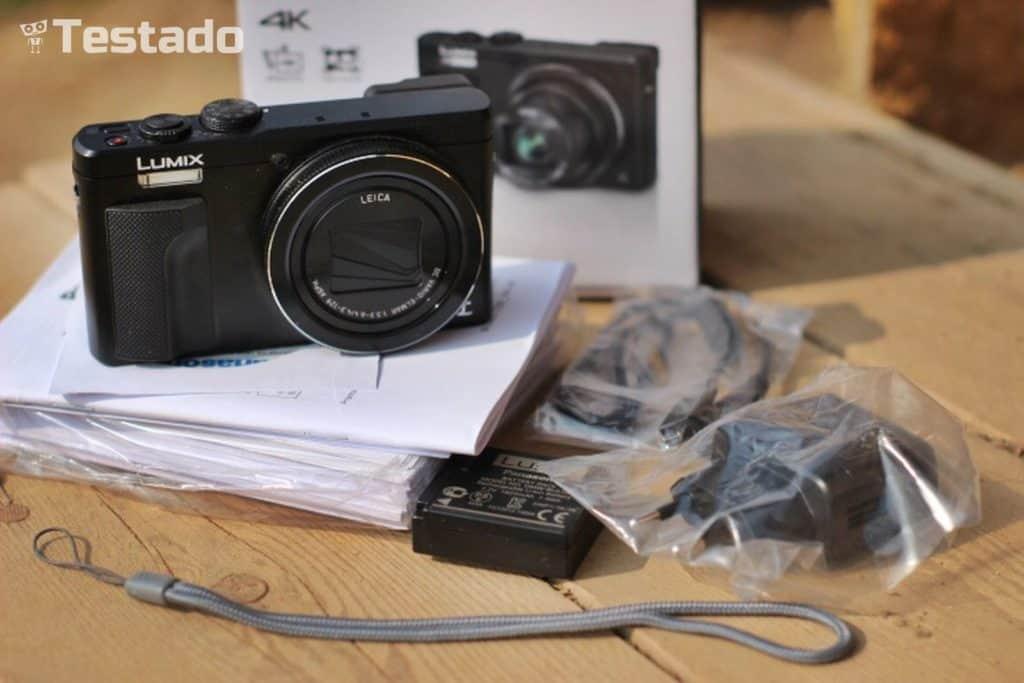Recenze Panasonic Lumix DMC-TZ80 - obsah balení